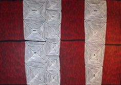 Ronnie Tjampitjinpa: Tingari Squares & Fire Dreaming
