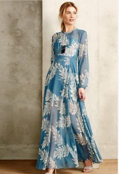 The long sleeve, sheer Conservatoire Dress by Sass & Bide | #BellAndWhite #Fashion