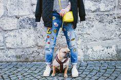 Ideias espertas de DIY para transformar suas peças jeans com estilo: patches
