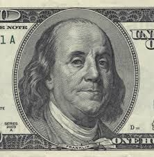 Benjamin Franklin he assisted in writing the declaration of independence and he is on the $100 bill