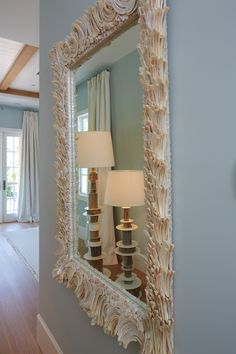 Luxury Abalone Shell Mirror is the perfect home decor accent for your home remodel, design, and interiors inspiration. The best furniture store in Miami for shell mirrors. Nautical Furniture, Cool Furniture, Furniture Design, Seashell Art, Coastal Living, Interior Inspiration, Accent Decor, Sea Shells, Home Remodeling