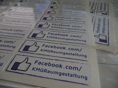 Facebook-Aufkleber