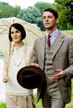 "jodockerys: "" Lady Mary & Henry Talbot - Downton Abbey, Christmas Special 2015 """