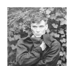Sexy Black & White pic of Cillian would be great if just his eyes were in color... Those stunning icy blue beautiful eyes of his melt my .