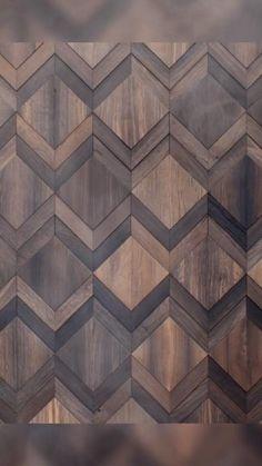 Feature Wall Design, Wall Panel Design, Wall Tiles Design, 3d Wall Panels, Wooden Wall Design, Wood Interior Design, Diy Wall Art, Diy Wall Decor, Wallpaper Layers