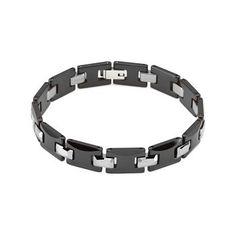 Elite Jewels Ceramic Couture & Tungsten Bracelet