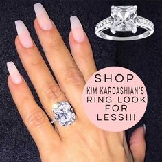 Shop Kim Kardashian's Look for Less  #blingjewelry