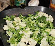 the easiest broccoli cauliflower stir fry