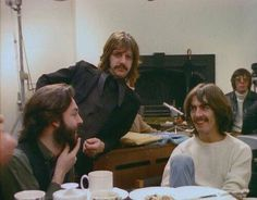Beatles - McCartney, Starr and Harrison