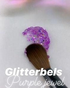 Purple Nails, Purple Glitter, Acrylic Nail Art, Acrylic Nail Designs, Engagement Nails, Gel Nail Tutorial, Glitter Acrylics, Halloween Nail Designs, Get Nails