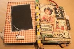 Denise Hahn Graphic 45 ABC Primer Mini Album - 04