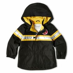 Firetruck Jacket for Spring! Our Baby, Baby Love, Nike Jacket, Rain Jacket, Little Gentleman, Themed Nursery, Firetruck, Fire Engine, Future Baby