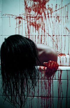 My Bloody bathroom - by Joga Nelken (1985), French