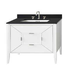 Shop for Ronbow Amora Bathroom Vanity Cabinet Base in White. Get free delivery On EVERYTHING* Overstock - Your Online Furniture Outlet Store! 30 Vanity, Bathroom Vanity Base, Modern Vanity, Bathroom Vanity Cabinets, Bathroom Furniture, Small Bathroom, Modern Bathroom, Bathroom Vanities, Solid Wood Cabinets