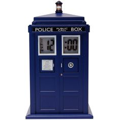 Doctor Who TARDIS Projection Alarm Clock! #DoctorWho