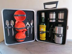 Executair 720C Travel Coffee Bar, Compact Coffee Travel Set, Coffee Maker Trav-L-Bar Set by MinniesFlea on Etsy