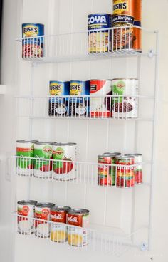 10 Tips for an Organized Pantry | Create an organized pantry with these 10 tips on making the most of your food storage space from @Nina Hendrick Design Co.!