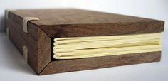 wooden book... I'm going to need one of this immediately