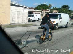 Sweet Home Hialeah. We love Miami Dade ! Our Community and Neighbors. Miami Dade County, South Florida, Back In The Day, Cuban, Baby Strollers, Sweet Home, Lol, Humor, Lawn Mower