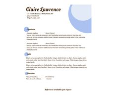 Download this Lavender Orbs Resume Template and other free printables from MyScrapNook.com