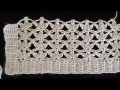 Kolay Tığ İşi Örgü Yapılışı - YouTube Crochet Poncho, Crochet Motif, Easy Crochet, Crochet Baby, Baby Knitting Patterns, Knitting Stitches, Crochet Patterns, Knitting Videos, Crochet Videos