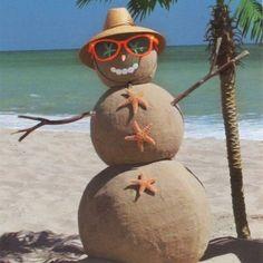 # Beach Please # Snowman # Sunman # Sea # Ocean
