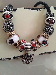 Love the red garnet charms! Nicole