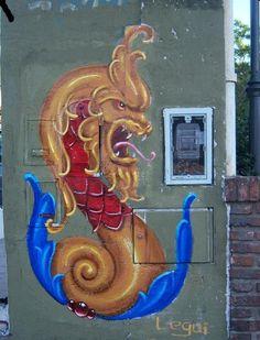 graffiti y fileteado