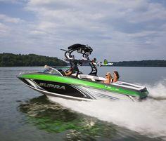 New 2014 Supra Boats Launch 242 Ski and Wakeboard Boat Photos- iboats.com