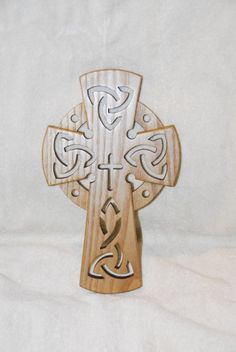 One Of A Kind Wooden Celtic Cross