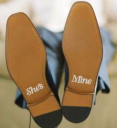 Weddingdeco.nl | Schoenstickers - Groom - Style