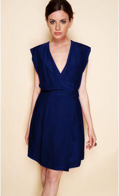 robe courte bleu marine - Recherche Google