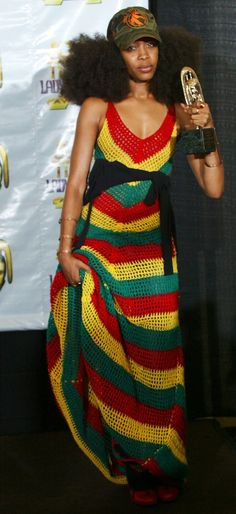 Ooh I love this dress !.. where can I get one?   erykah badu style - Google zoeken