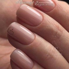 The advantage of the gel is that it allows you to enjoy your French manicure for a long time. There are four different ways to make a French manicure on gel nails. Shellac Nails, Nude Nails, Pink Nails, My Nails, Heart Nails, Yellow Nails, Gel Nail, Subtle Nails, Neutral Nails