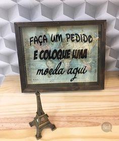 Quadro cofre faça um pedido #quadrocofre #cofre #decorzziello #placasdecorativas #quadrosdecorativos #decoração #fundesign