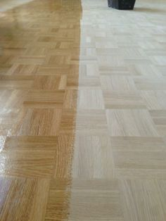 Floor staining can drastically alter the finished effect. Wood Floor Design, Floor Stain, Hardwood Floors, Flooring, Restoration, Wood Floor Tiles, Wood Flooring, Floor