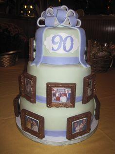 90th Birthday Cake Grandpa Joe Will Be 90