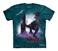 The Mountain T Rex Running Dinosaur T-Shirt $15.99 in stock & same day shipping! Shop www.DinosaurToysSuperstore.com