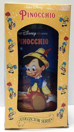 (TAS033666) - 1994 Coca-Cola Walt Disney Pinocchio Collector's Series Glass