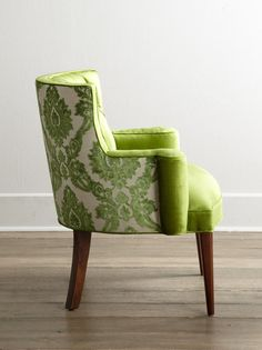 """Vanesssa Friedman, """"Color of Pantone Picks a Spring Shade,"""" The New York Times December 'Greenery' (Pantone is Pantone's Color of the Year for Color Of The Year 2017 Pantone, Pantone Color, Corporate Design, Pantone Greenery, Green Rooms, Take A Seat, Decoration, Furniture Design, Furniture Chairs"""