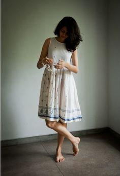 Tilla by Aratrik Dev Varman Dress Indian Style, Indian Dresses, Indian Outfits, Indian Wear, Kurti Designs Party Wear, Kurta Designs, Casual Summer Dresses, Stylish Dresses, Dress Casual