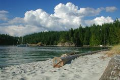 Mansons Landing Park, Cortes Island, Discovery Islands, British Columbia, Canada