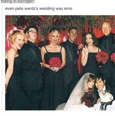 Perfect. Pete Wentz in a nutshell