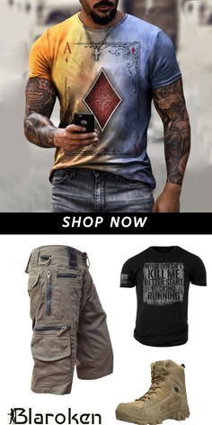 Buy Men's Tactical Pants, Clothing and Gear for great price at Blaroken. #tactical #tactical #casual #ootd