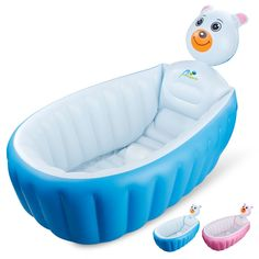 2017 New Baby Inflatable Bathtub Swimming Float Safety Bath Tub Swim ...