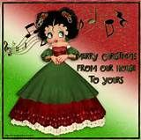Lisa's place: Betty boop christmas