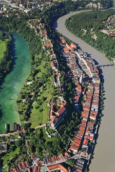 The Longest Castle In Europe in Burghausen, Bavaria | Germany (by Aerial Photography)