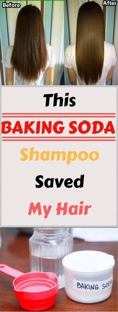 Baking Soda Shampoo: It'll Make Your Hair Develop Like It truly is Magic! - Baking Soda Shampoo: It'll Make Your Hair Develop Like It truly is Magic! Baking Soda For Dandruff, Baking Soda Shampoo, Dry Shampoo, Hair Shampoo, Honey Shampoo, Natural Shampoo, Clarifying Shampoo Diy, Baking Soda Water, Baking Soda Uses