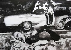 Paolo Boosten - eP-130905 - Indian Ink on paper - 69x49 cm - 2013