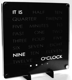 New Creative Collection manufacturing methods have been applied to our DeskClocks, continuing our quest exploring new material combinations This is Unusual Clocks, Cool Clocks, Farewell Gifts, Acrylic Sheets, Desk Clock, The Twenties, Growing Up, Creative, How To Apply